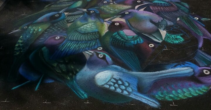Street Painting Festival in Lake Worth, FL