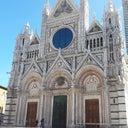 Piazza Del Duomo Siena Toscana