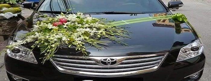 Bunga Hiasan Mobil Pengantin