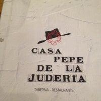 รูปภาพถ่ายที่ Casa Pepe de la Judería โดย Gonzalo R. เมื่อ 3/24/2012