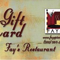 Foto tirada no(a) Fay's Restaurant por Fay's Restaurant em 12/16/2011
