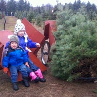 ... Photo taken at Candy Cane Christmas Tree Farm by Hans H. on 12/2 ...