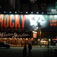 Foto diambil di Winter Garden Theatre oleh Miguel G. pada 3/14/2014