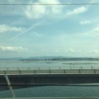 5/21/2017にNaoが東海道新幹線 第三浜名橋梁で撮った写真