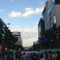 Foto tirada no(a) 금남로공원 por margot em 5/17/2013