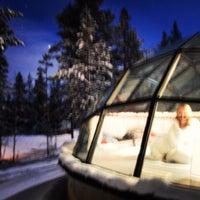 11/18/2013にНина Х.がKakslauttanen Arctic Resortで撮った写真