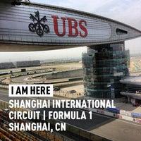 Das Foto wurde bei Shanghai International Circuit von Thomas C. am 4/13/2013 aufgenommen