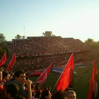 Снимок сделан в Estadio Marcelo Bielsa (Club Atlético Newell's Old Boys) пользователем Leandro O. 11/18/2012