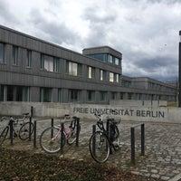 Das Foto wurde bei Freie Universität Berlin von Library M. am 4/5/2018 aufgenommen