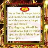 Foto scattata a Simply Soup Salad  & Sandwiches da simply s. il 11/27/2014