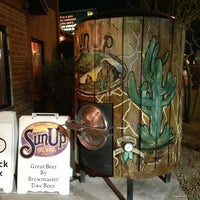 Photo taken at SunUp Brewing Co. by Ricky P. on 2/16/2013