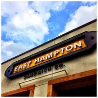 รูปภาพถ่ายที่ East Hampton Sandwich Co. โดย Ron R. เมื่อ 4/17/2013