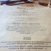 รูปภาพถ่ายที่ Bijou Cafe โดย Wendy W. เมื่อ 4/13/2013