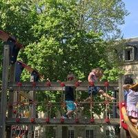 Aire De Jeux Du Jardin Villemin Playground In Paris