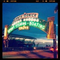 Foto tomada en Santa Monica State Beach por Yujin L. el 1/23/2013