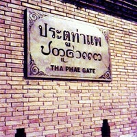 Foto scattata a Tha Phae Gate da May K. il 1/21/2013