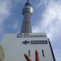 Снимок сделан в Tokyo Skytree Station (TS02) пользователем HIROKO K. 11/24/2012