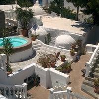 7/14/2014 tarihinde Steve D.ziyaretçi tarafından Carbonaki Hotel Mykonos'de çekilen fotoğraf