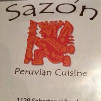 รูปภาพถ่ายที่ Sazón - Peruvian Cuisine โดย Dan L. เมื่อ 8/6/2016