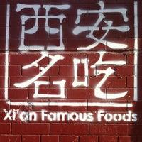 4/7/2013 tarihinde Nate N.ziyaretçi tarafından Xi'an Famous Foods'de çekilen fotoğraf