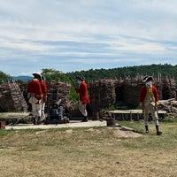 Photo prise au Fort Ticonderoga par Paul W. le7/28/2020