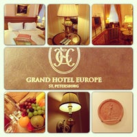 Foto tomada en Belmond Grand Hotel Europe por Alexey S. el 2/24/2013