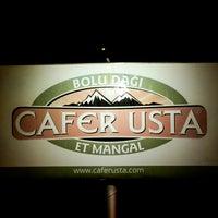 Снимок сделан в Cafer Usta Bolu Dağı Et Mangal пользователем Cafer Usta Bolu Dağı Et Mangal 12/19/2014