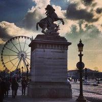 Das Foto wurde bei Place de la Concorde von Gianpaolo F. am 2/16/2013 aufgenommen
