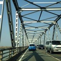 濃尾大橋 - Ponte em 羽島市 / ...