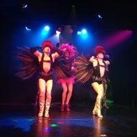 Снимок сделан в Театр-кабаре на Коломенской/ The Private Theatre and Cabaret пользователем Igor R. 2/1/2013