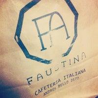 Снимок сделан в Faustina Café пользователем Luciano C. 7/24/2013