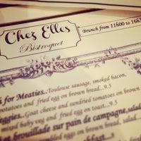 Снимок сделан в Chez Elles пользователем Kaïs A. 6/9/2013