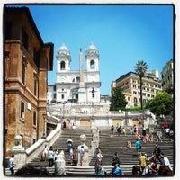 Foto scattata a Piazza di Spagna da Giuseppe G. il 7/6/2013
