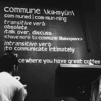 Снимок сделан в Commune пользователем Ros J. 6/10/2015