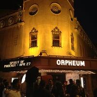 Photo taken at Orpheum Theater by Jordan Ashley H. on 4/5/2013