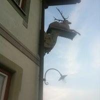 Foto tirada no(a) Gasthof Zum Hirsch por Thomas E. em 7/7/2013