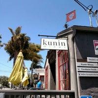 Das Foto wurde bei Kunin Wines Tasting Room von Tati am 4/28/2016 aufgenommen