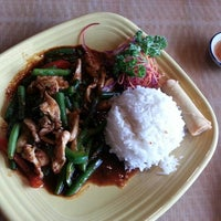 Photo taken at Yupha's Thai Kitchen by Rick S. on 1/26/2013