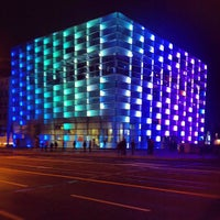 Photo taken at Ars Electronica Center by geheimtip ʞ. on 10/6/2012