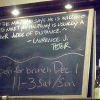 Снимок сделан в Troquet пользователем D B. 11/26/2012