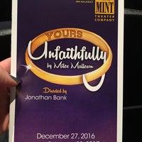 Снимок сделан в Mint Theater Company пользователем Laura G. 1/25/2017