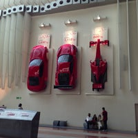 Photo taken at Ferrari World Abu Dhabi by Иван П. on 1/5/2013