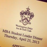 Foto diambil di Washington Duke Inn & Golf Club oleh Jennifer L. pada 4/26/2013