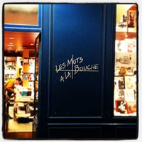 4/23/2013 tarihinde Marcio R.ziyaretçi tarafından Les Mots à la Bouche'de çekilen fotoğraf