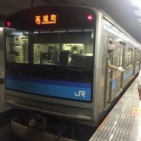 10/1/2017にさえが仙台駅 9-10番線ホームで撮った写真