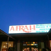 Photo taken at Afrah Mediterranean Restaurant & Pastries by Gershom A. on 7/28/2013