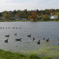 Photo taken at Crane Park (the ponds) by Terry S. on 10/19/2013