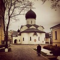 11/18/2012 tarihinde Ericziyaretçi tarafından Marfo-Mariinsky Convent'de çekilen fotoğraf