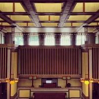 รูปภาพถ่ายที่ Frank Lloyd Wright's Unity Temple โดย Tyler C. เมื่อ 6/15/2013