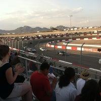 Photo prise au Bullring at Las Vegas Motor Speedway par Donald L. le7/4/2013